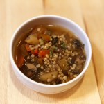 Vegetable Soup with Sorghum