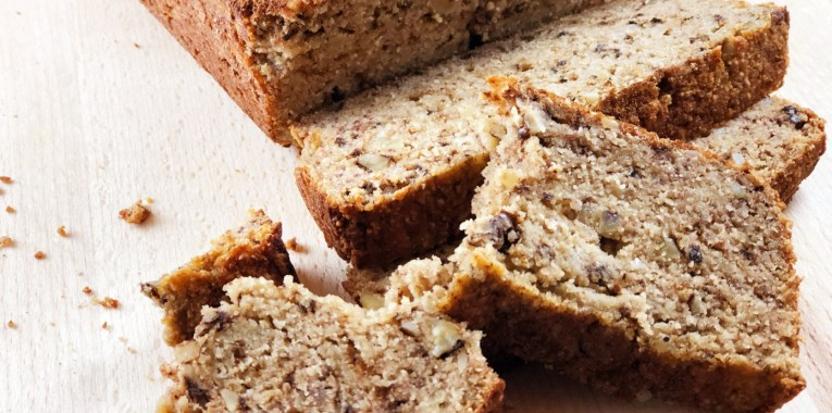 Grain-Free Banana Walnut Bread