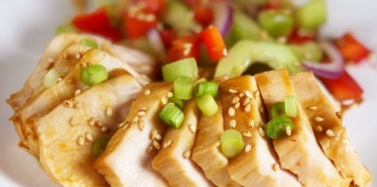 Orange Ginger Chicken Breasts