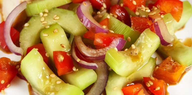 Soy-Free Asian Cucumber Salad