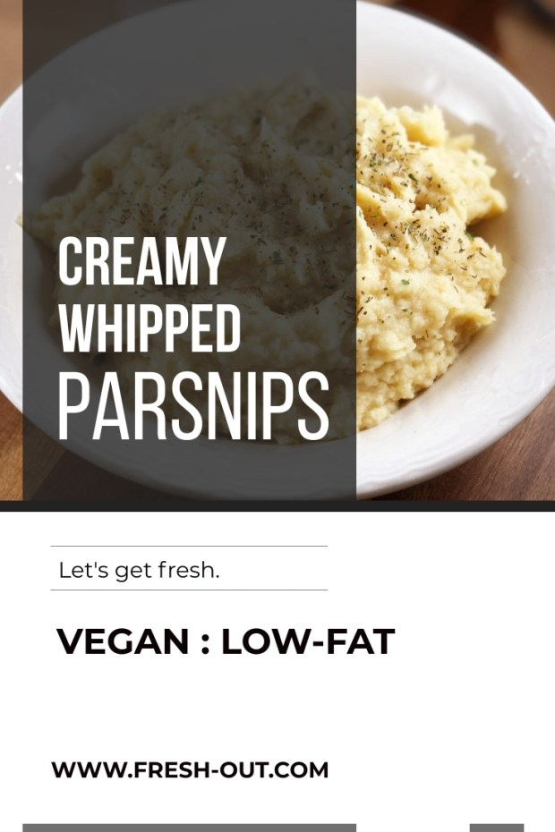 Creamy Whipped Parsnips