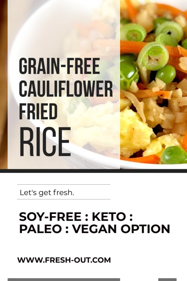 EASY CAULIFLOWER FRIED RICE
