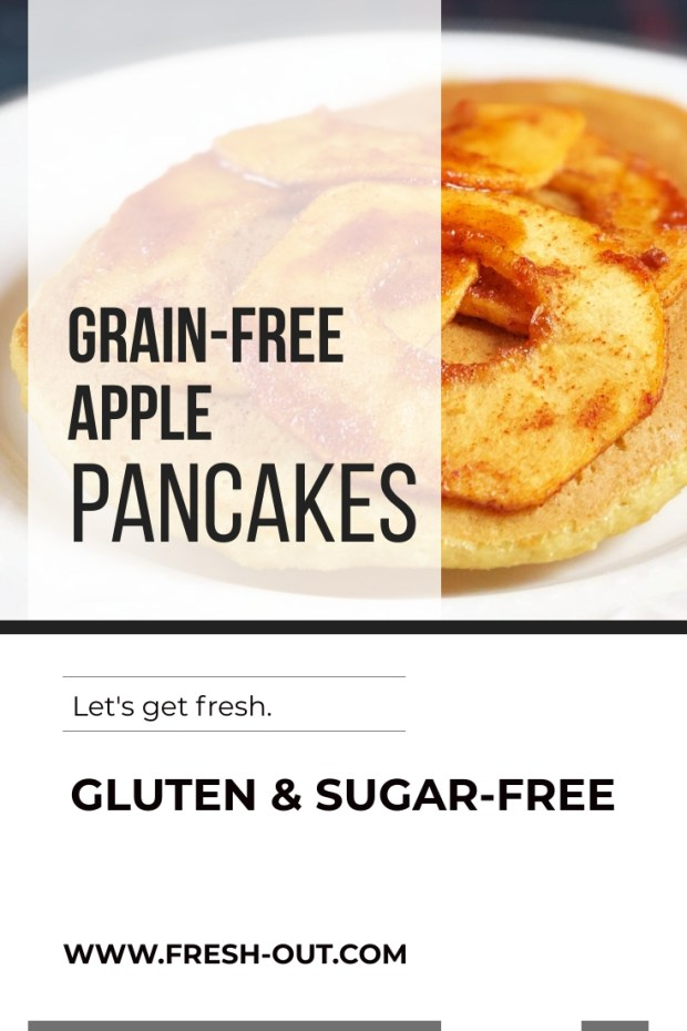 Grain-Free Apple Pancakes