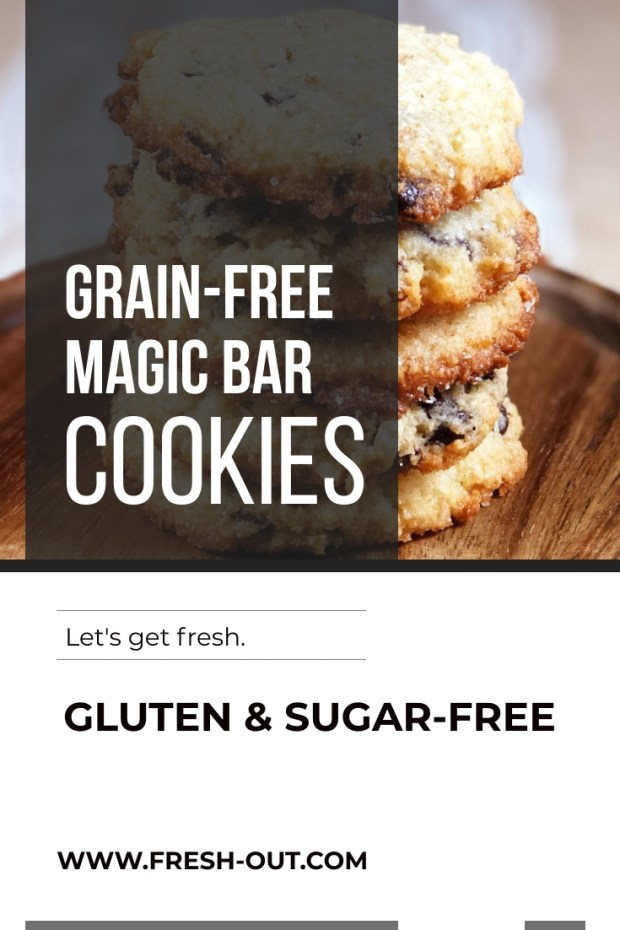 GRAIN-FREE MAGIC BAR COOKIES