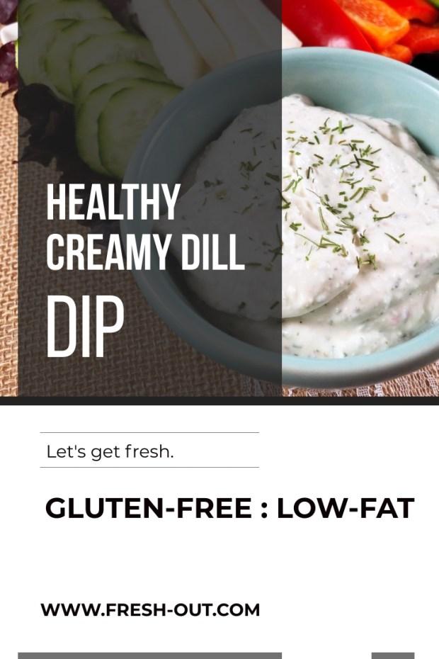 HEALTHY CREAMY DILL DIP