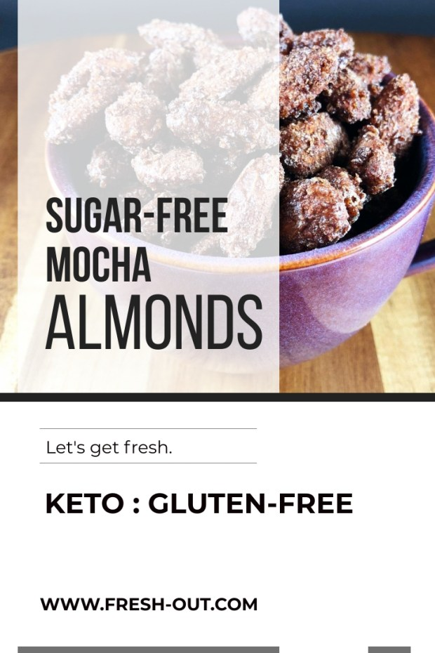 SUGAR-FREE SWEET MOCHA ROASTED ALMONDS