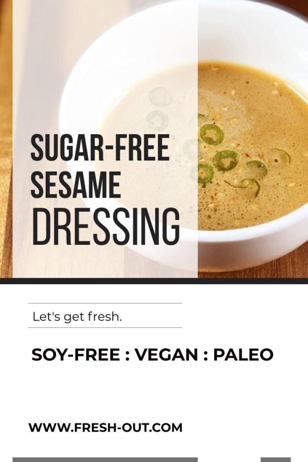 Sugar-Free Sesame Dressing