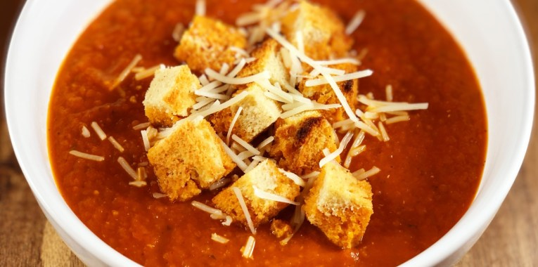 Instant Pot Roasted Heirloom Tomato Soup