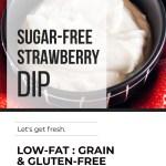SUGAR-FREE STRAWBERRY DIP