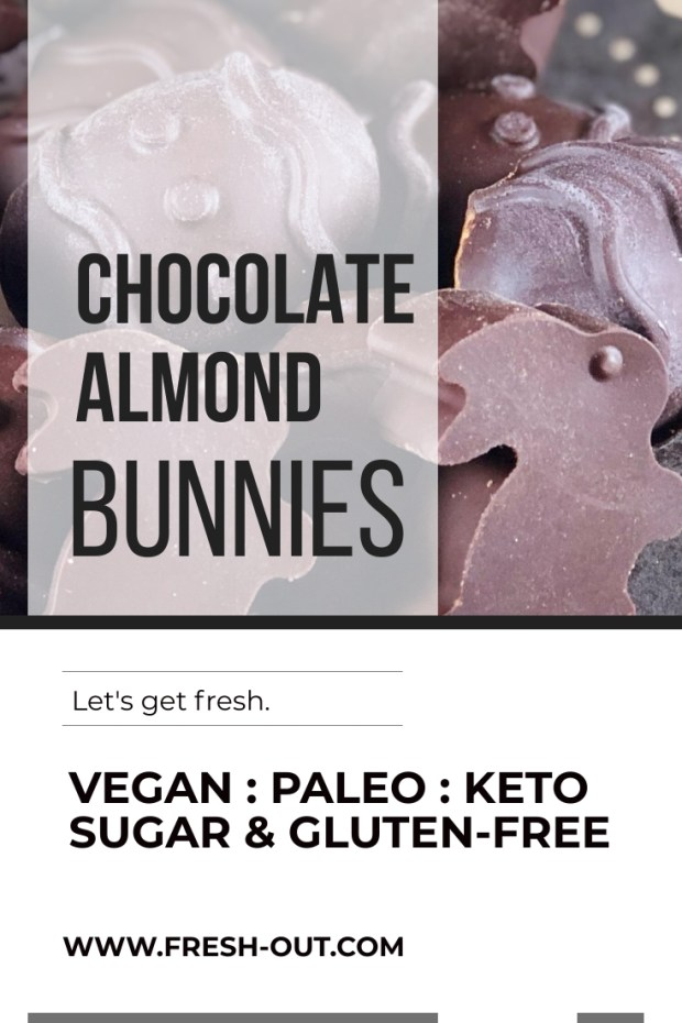 CHOCOLATE ALMOND BUNNIES
