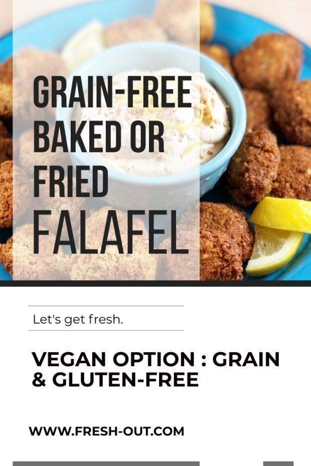 GRAIN-FREE FALAFEL