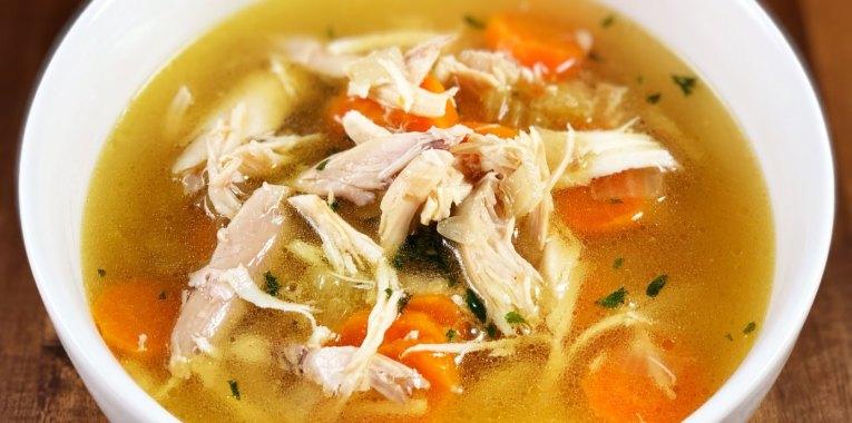 Instant Pot Whole Chicken Soup