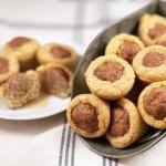Turkey Sausage Biscuit Bites
