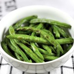 Roasted Coriander Lime Green Beans