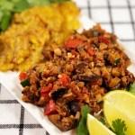 Veggie Tacos with Tostones