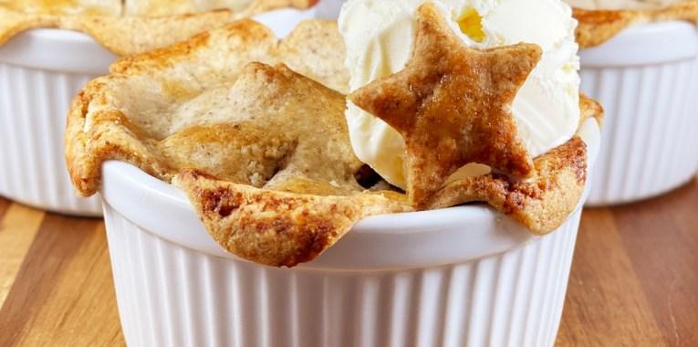Vegan Grain-Free Mini Apple Pies