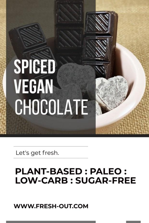 SPICED VEGAN CHOCOLATE