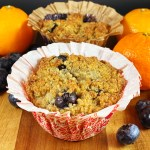 Vegan Grain-Free Blueberry Breakfast Muffins