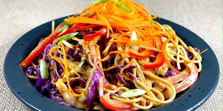 Vegan Spicy Peanut Stir Fry