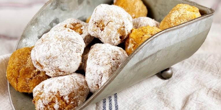 Paleo Baked Apple Donut Bites