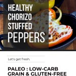 HEALTHY CHORIZO STUFFED PEPPERS