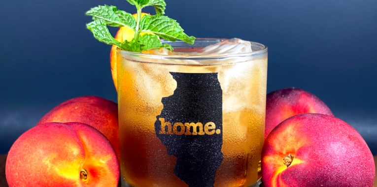 Nectarine Mint Sun Tea