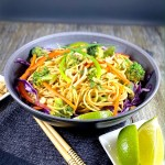 Chickpea Noodle Pad Thai with Vegetables