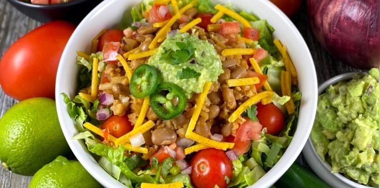 Vegan Burrito Salad