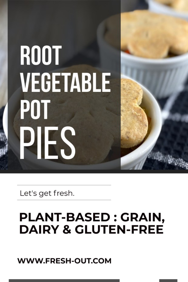ROOT VEGETABLE POT PIES