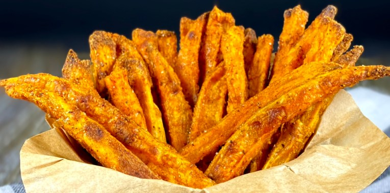 Crispy Savory Sweet Potato Fries