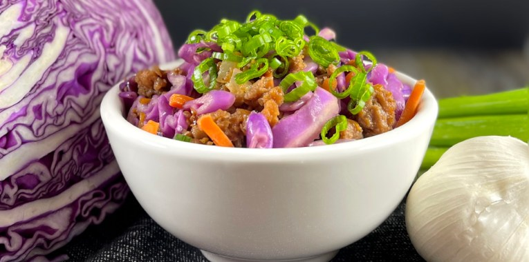 Vegan Soy-Free Egg Roll in a Bowl