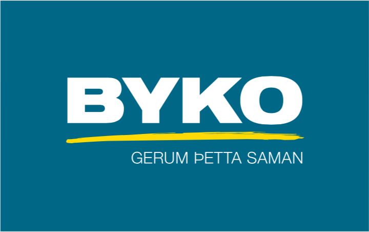 Byko-logo-hreinteiknad