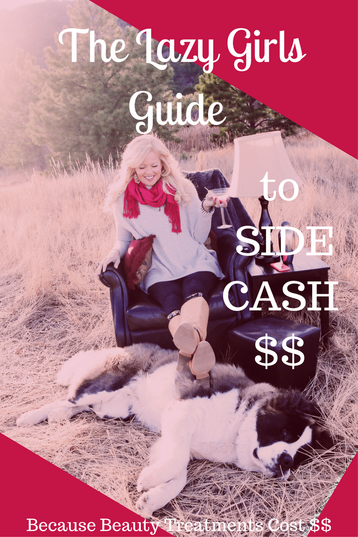 Women over 40-The Lazy Girls Guide to side cash
