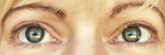 Before Lash Lift and tint