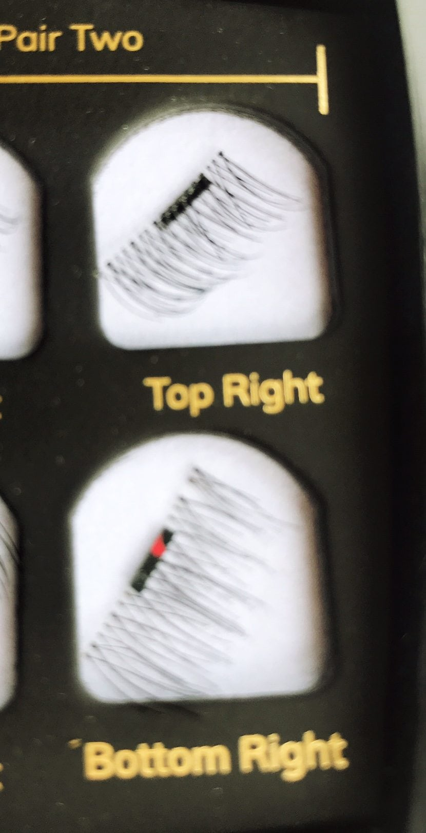 How I got on with magnetic lashes.