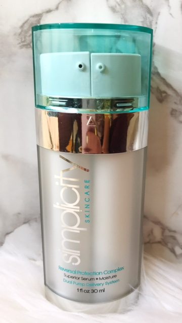 Simplicity Skincare; HIgh End , complete anti aging complex all contained in one bottle!