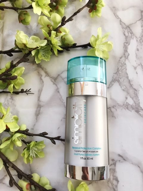 Simplicity Skincare; High End, Anti Aging Complex all contained in one bottle.