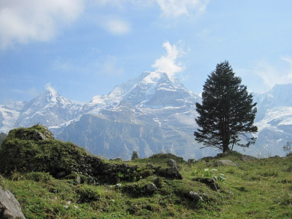 How to Backpack Across the Swiss Alps