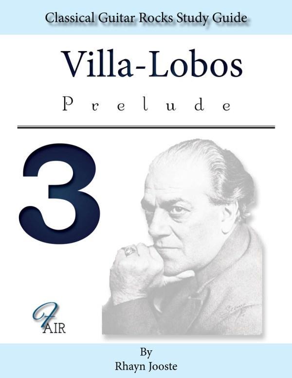 Prelude 3 Villa-Lobos