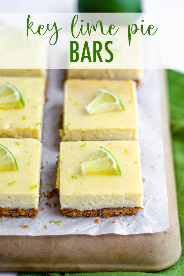 A creamy, tart Key lime pie filling sits on top of a buttery graham cracker crust... It's so much easier than making a whole pie!