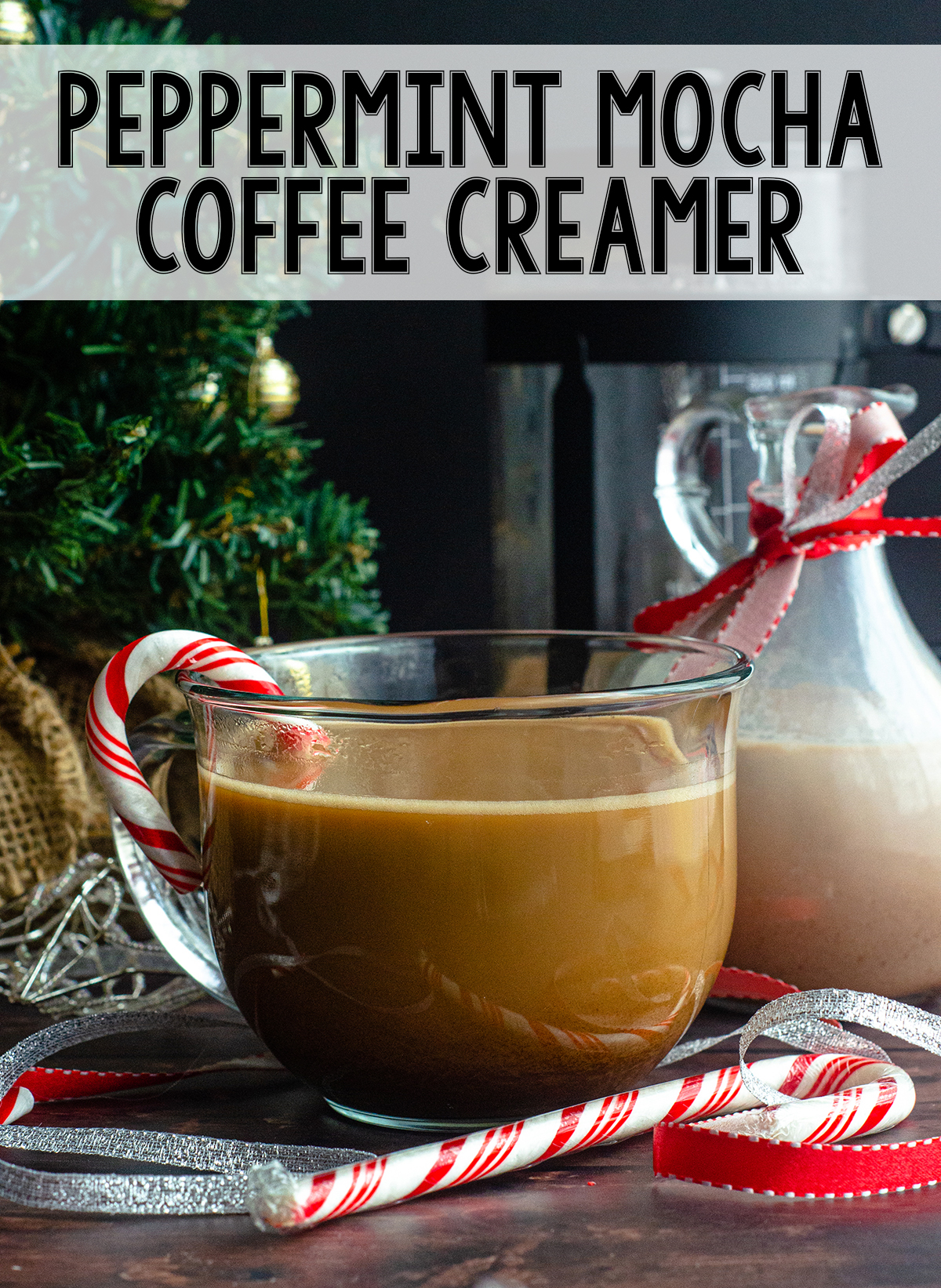 Just a few ingredients and 5 minutes gets you an all-natural, chemical free holiday flavored cup of coffee!