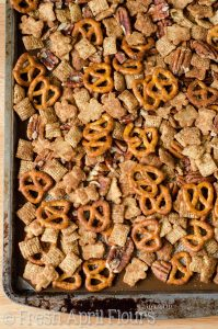 Pumpkin Spice Chex Mix: A sweet and salty snack mix packed with pumpkin spice flavor. A must-have for cozy weather snacking!