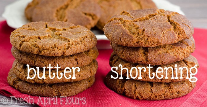 Gingersnap Cookies 2 Ways