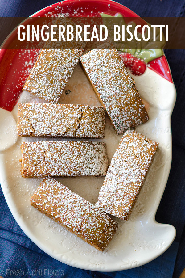 Traditional Italian cookies spiced with all the flavors of the holiday season, ready for a dunk in some eggnog!