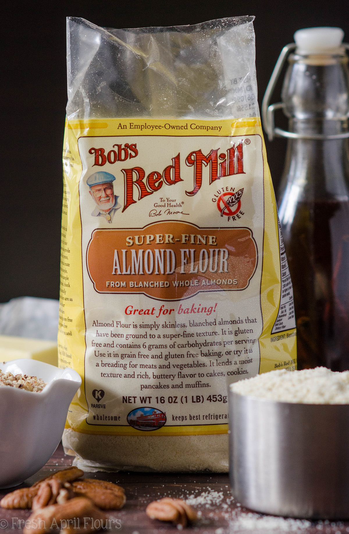 bag of bob's red mill almond flour