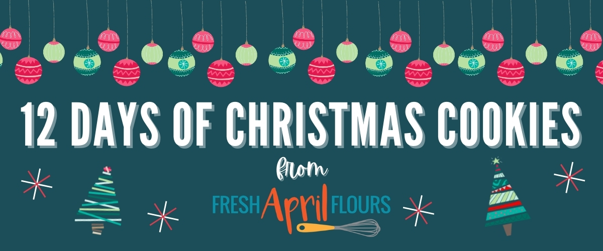 12 days of christmas cookies promo graphic
