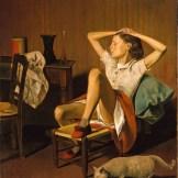Metropolitan Museum: Balthus, Thérèse Dreaming, 1938