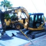 Construction in Miami
