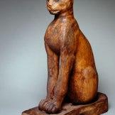 Brooklyn Museum: Figure of a Cat, Egypt