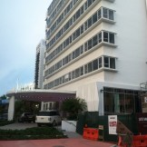 Shelborne hotel (along Collins Avenue)